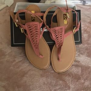 New in box Qupid Sandlers size 7w
